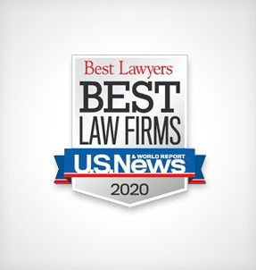 2019 Best Law Firms; Best Lawyers® and U.S. News Media Group