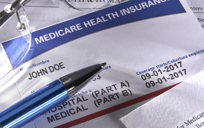 New Medicare Card for Social Security Insurance Medical Benefits